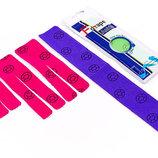 Кинезио тейп преднарезанный эластичный пластырь Kinesio tape Ankle для лодыжки