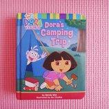Детская развивающая книга на английском Dora's Camping Trip Даша путешественница