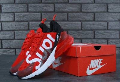 5065781a Nike Air Max 270 Supreme Red, кроссовки мужские найк 270: 1350 грн ...