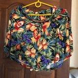 Отличная трикотажная юбка шорты River Island, р-р 8 34