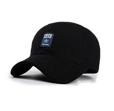 Черная бейсболка Fuze - 4105