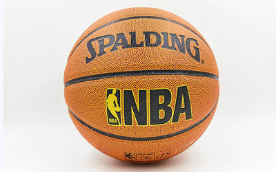 Мяч баскетбольный Spalding NBA Gold 5471 размер 7, PU, бутил
