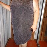 нарядное блестящее платье до 70р