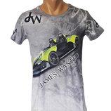 Стильная 3D футболка Mastiff - 4196