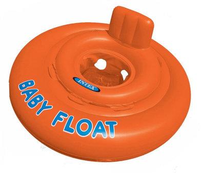 Надувной круг-плот Intex 56588t Baby Float