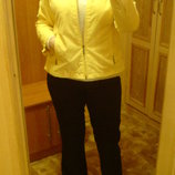 Яркая Желтая куртка курточка р 46-52