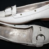 41 разм. Фирменные мокасины Gabor comfort.. Кожа на широкую ножку Длина по внутренней стельке - 27