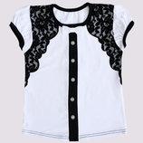 Блуза школьная для девочек, рост 116-152