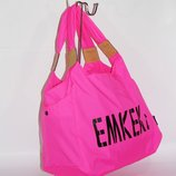 Спортивная, дорожная, пляжная сумка EMKeke 915 розовая, расцветки