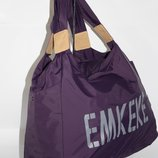 Спортивная, дорожная, пляжная сумка EMKeke 915 фиолетовая, расцветки