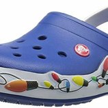 Кроксы Crocs Crocband Holiday Lights Clog раз. М9 и М10 - 27 и 28см