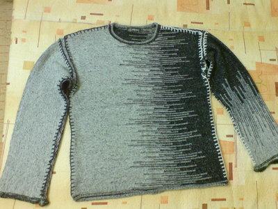 b7342b869fb Оригинальный теплый мужской свитер