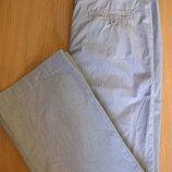 Фирменные брюки европейский р.38 Bleu Marine стрейч-коттон, состояние новых