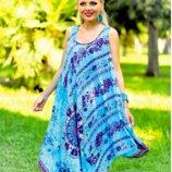 Новинки 2018 Летнее платье, сарафан, пляжная туника Индиано 709 I