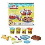 Пластелин тесто Плей-Дох набор для лепки Play-Doh ягодные тарталетки хасбро hasbro оригинал