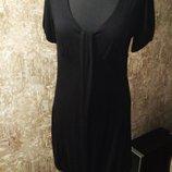 Лаконичное черное платье, размер м KappAhl