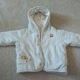 Нежная мягкая курточка для малыша