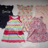 Платья на девочку 1,5-2 года 5 шт