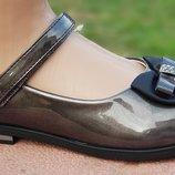 Туфли Tom. m 3736F темное серебро 28-33р.