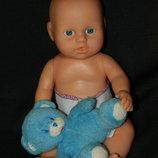кукла пупс малыш в памперсе