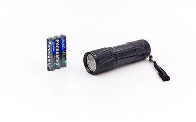 Фонарик светодиодный 159 9 светодиодов на батарейках