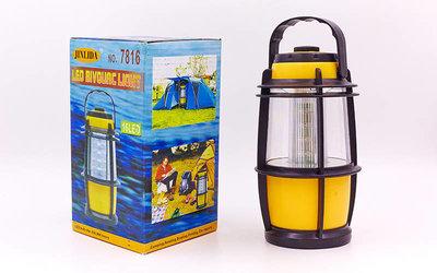 Фонарь кемпинговый светодиодный переносной 7816 16 ламп, размер 17х7,5см