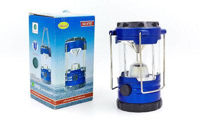 Фонарь кемпинговый светодиодный переносной 9787 9 ламп, компас размер 14х7,5см