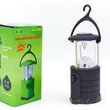 Фонарь кемпинговый светодиодный переносной 809 1 LED диод, размер 14х6,5см на барейках