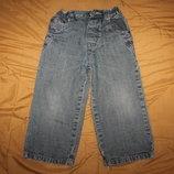 Штаны джинсы летние лёгкие тонкий хлопок на рост 98-104 для мальчика 3-4 года