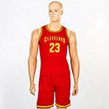 Форма баскетбольная подростковая NBA Cleveland 4310 баскетбольная форма размер M-XL