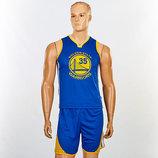 Форма баскетбольная подростковая NBA Golden State Warriors 7354 баскетбольная форма размер M-XL