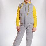 Удобный Спортивный костюм тройка для девочки 98-122р