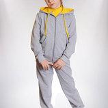 Удобный Спортивный костюм для девочки 98-122р