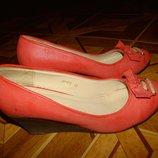Туфельки на платформе ROSSO р.40 стелька 26 см