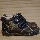 Очень хорошенькие комбинированные ботинки The great alaska expedition Голландия 21 р.