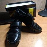 Туфли кожа черные на мальчика сад/школа р 27 по стельке 17 - 17,5 Отличное состочние, родная кообка