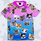 Детская футболка 3D Милые котята Огромный выбор