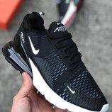 Крутые мужские черные кроссовки nike air max 270 40 41 42 43 44 45 размер