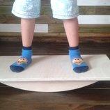 Балансировочная доска, баланс борд, доска балансир, доска Бильгоу для мозжечковой стимуляции