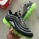 Мужские черные кроссовки nike air max 97 vapormax 41 42 43 44 45 размер