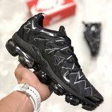 Мужские черные кроссовки nike air vapormax 41 42 43 44 45 размер