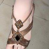 Красивые босоножки с камнями, р. 38, очень красиво на ноге. Удобный невысокий каблук, удобные