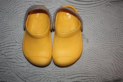 Кроксы ф.Crocs оригинал р-С 6/7,р-23/24 в отличном состоянии