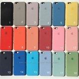 Силикон кейс IPhone 5/6/6s/7/7plus/ 8/X/ 8 Plus Apple айфон Silicone case чехол