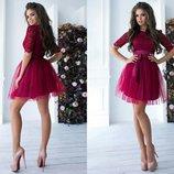 Платье 42,44,46 размеры 3 цвета