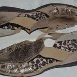 Босоножки сандали Dunlop кожа размер 41 42, босоніжки сандалі