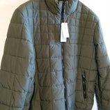 Мужская демисезонная куртка 2XL XXL наш 58-60р утепленная деми