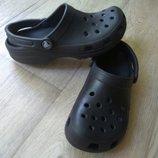 Кроксы Crocs Италия новом сост, джибитс в подарок