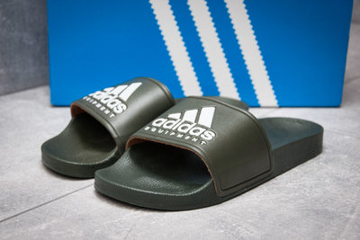 Шлепанцы мужские Adidas FlipFlops, хаки, 40,41,42,43,44 размер