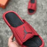 Мужские красные шлепки тапочки nike air jordan 40 41 42 43 44 45 размер